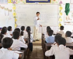 A supported Cambodian School